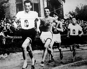1925. évi Olasz-magyar atlétikai viadal 1500 méteres versenyszáma